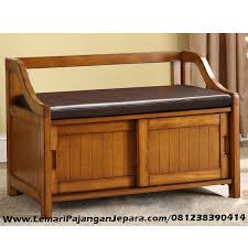 Southport Shoe Storage Bench With Cushion Jual Kursi Bangku Jati Model Rak Sepatu Minimalis Merupakan