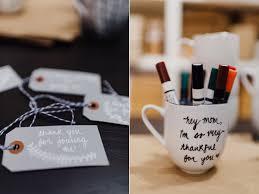 Decorating Porcelain Mugs Winter Bridal Shower Ideas Diy Personalized Mugs Ruffled