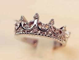 Crown Wedding Rings by Best 25 Princess Crown Rings Ideas On Pinterest Crown Rings