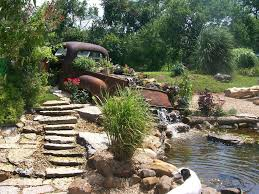 Backyard Ponds And Fountains Our Favorite Garden Ponds From Hgtv Fans Hgtv
