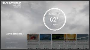 accuweather android app accuweather app now compatible with android tv androidheadlines