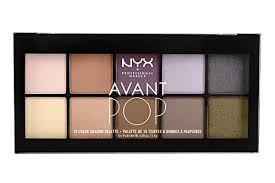 Makeup Emk nyx professional makeup avant pop shadow palette