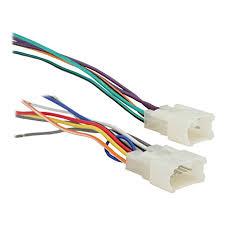 amazon com metra 70 1761 radio wiring harness for toyota 87 up