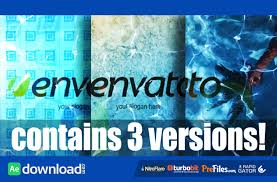 logo in water videohive template free download free after
