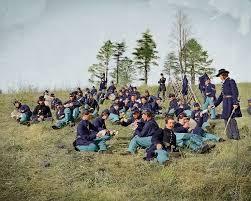 29 colorised civil war photograph images
