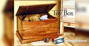 toy chest plans u2022 woodarchivist