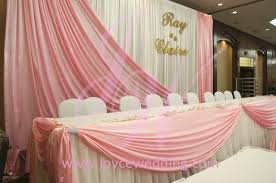 diy wedding backdrop names pink and white backdrop table joyce wedding services