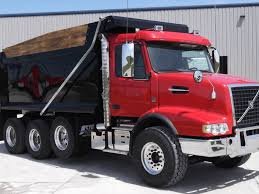 red volvo truck 2018 volvo vhd84b200 dump truck for sale 286581