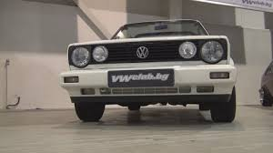 volkswagen rabbit 1990 volkswagen golf mk1 cabriolet 1990 exterior and interior youtube