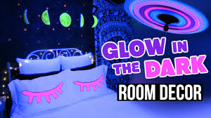 Glow In The Dark Home Decor Diy Glow In The Dark Room Decor Inspired Youtube