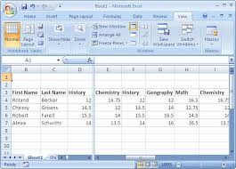 microsoft excel tutorial lesson 2 the columns of a spreadsheet