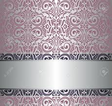 Allen And Roth Wallpaper by Pink Silver Vintage Wallpaper Royalty Free Cliparts Vectors And