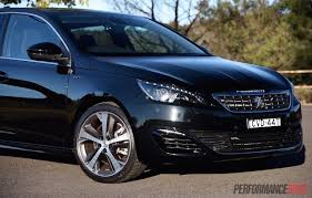 peugeot turbo 308 2015 peugeot 308 gt review video performancedrive