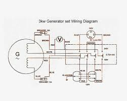 wiring diagram for generator electrical diagrams for generators