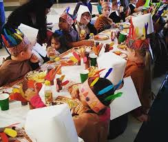 1st graders took a field trip to the thanksgiving