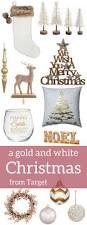 Target Christmas Decor A Gold And White Christmas From Target Gold Christmas