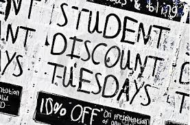 restaurant discounts college student discounts museums fast food apple store more