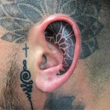 69 perfect ear tattoo designs that you should embrace this summer