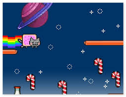 Nyan Meme - nyan cat lost in space funny arcade game about internet meme nyan