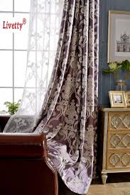aliexpress com buy modern fabric blackout curtains for living