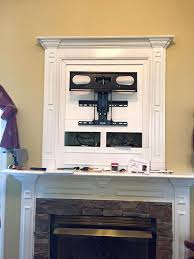installing flat screen tv over fireplace best over fireplace ideas on above fireplace above mantle and