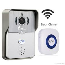 ebell home kit security hd wifi video doorbell camera w indoor