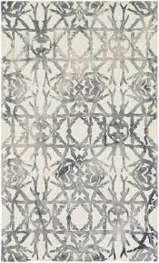 White Modern Rug Contemporary Rugs Home And Rugs
