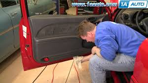 how to install replace door panel pontiac grand am 99 06 1aauto