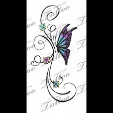 marketplace butterfly and flower vine 2764