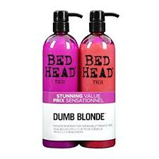 Tigi Bed Head Dumb Blonde Shampoo And Conditioner 750 Ml Pack Of