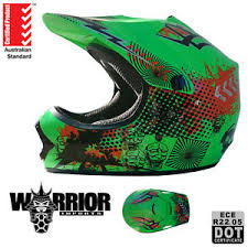 youth xs motocross helmet motocross dirt bike helmet kids child youth xs to xl green
