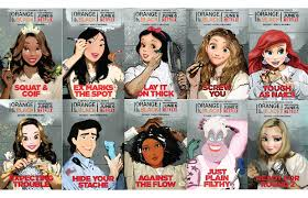 Orange Is The New Black Meme - disney princesses transformed into cast of orange is the new black
