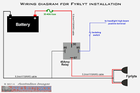 simple relay wiring diagram 4 pin relay wiring diagram horn