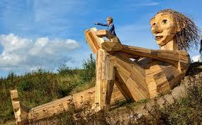 wood sculpture artists wooden sculpture artist offers graffiti workshop to vandals