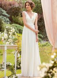 bohemian wedding dress bohemian bridal wedding dress lace summer v neck bridal