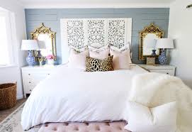prescott view home reno master bedroom makeover classy clutter the bedding is from crane and canopy linden grey border with pillows from hobby lobby pink velvet caitlin wilson florals and willa skye home