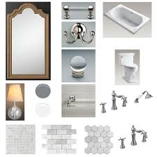 Restoration Hardware Bathroom Fixtures by Master Bathroom Remodel U2014 Easton Place Design Studio