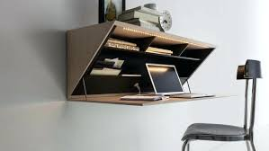 folding desks for small spaces wall folding desk best mounted designs for small homes wall folding