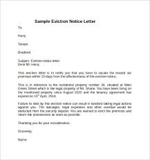 sample notice to vacate letter 7 free documents in word pdf