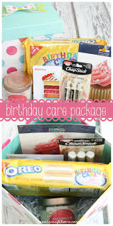 birthday care package birthday care package birthdays gift and free printable