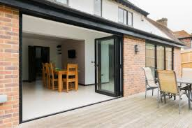 Patio Doors Vs French Doors by Bifold Or Sliding Patio Doors