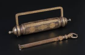 Ottoman Harem by 51bidlive Cadenas De Harem Cylindrique En Acier Probablement