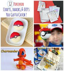 12 pokemon go activities snacks u0026 diy u0027s you gotta catch this