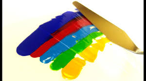 satisfying paint color mixing video youtube