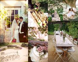 rustic outdoor wedding reception our wedding ideas
