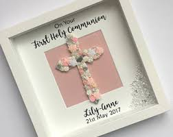 personalized communion gifts holy communion gift etsy