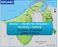 Brunei Map Public Transport Challenge Brunei Muara District