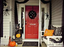 front doors how to spook up the front door for halloween simply