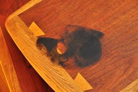 white stain on wood table removing stain from wood furniture how to remove oil stain from