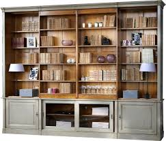White Wood Bookcases Wall Units Marvellous Bookcase Wall Unit Bookshelves With Space